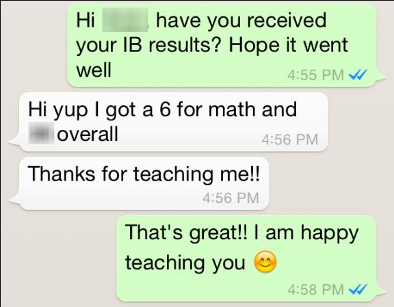 Grade 12, SJI International IB SL Math, 2015
